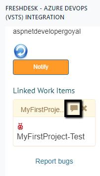 Freshdesk Visual Studio AzureDevops