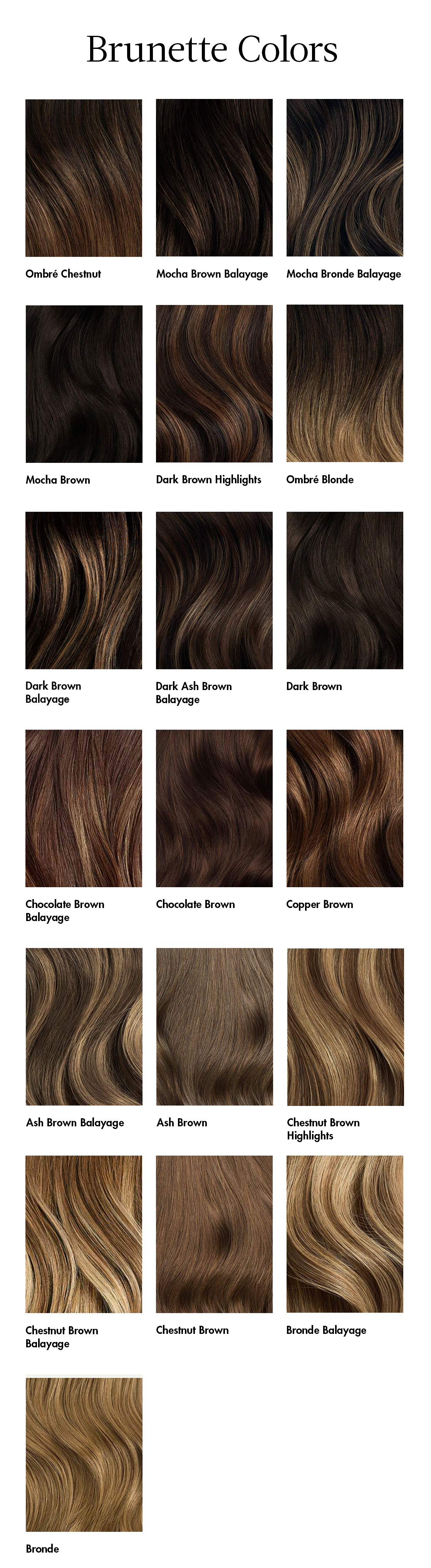 How Do I Choose The Right Color Of Brown Extensions Luxy Hair Support,Child Bedroom Furniture Design Ideas