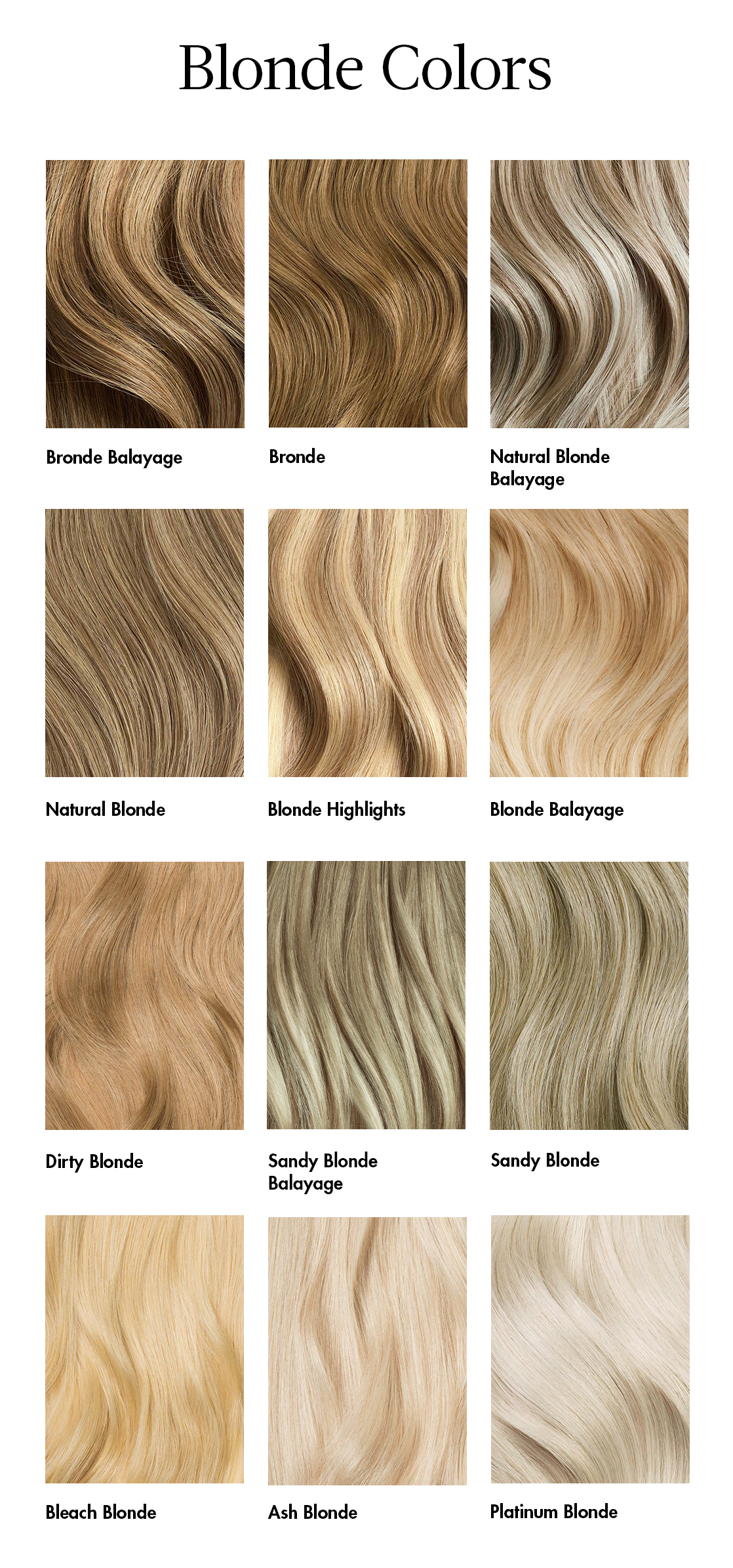 How Do I Choose The Right Color Of Blonde Extensions Luxy Hair Support