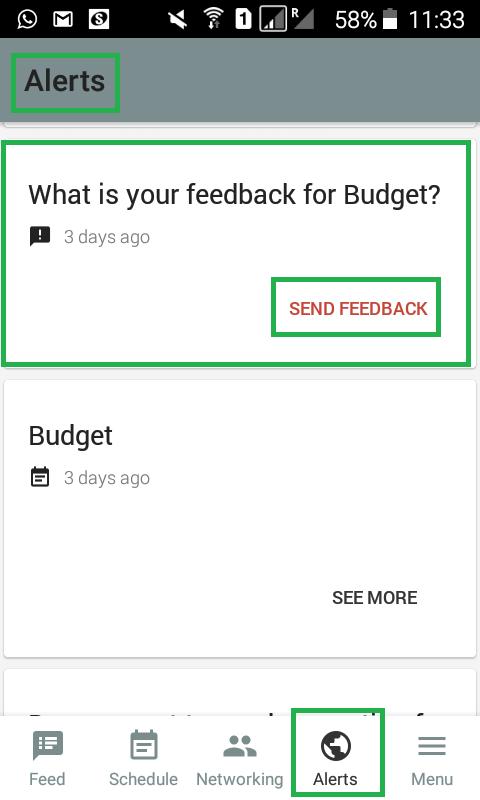 screenshot feedback alerts