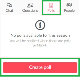 Creating a poll in your activity