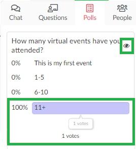 polls virtual lobby > votes