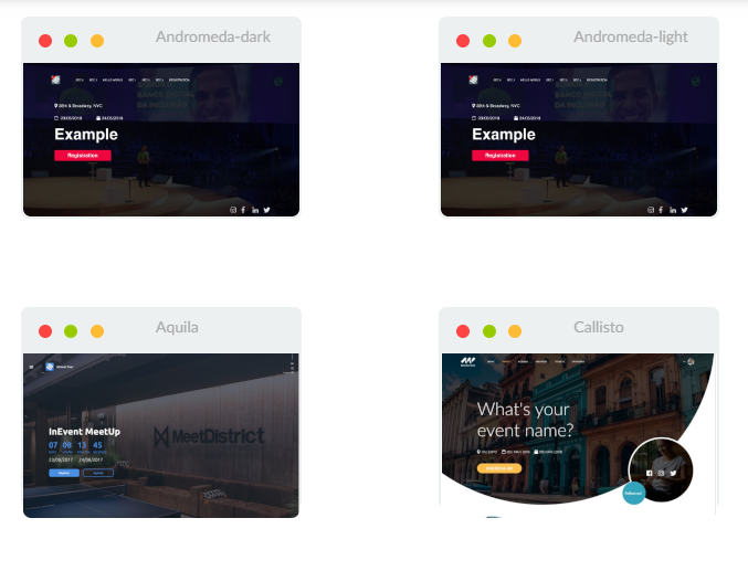 Screenshot directory templates