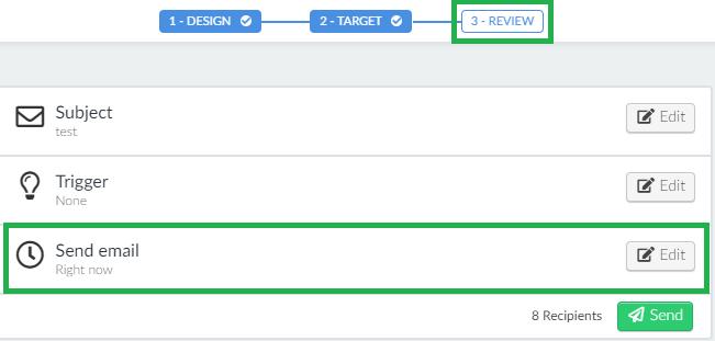 Screenshot review > send email