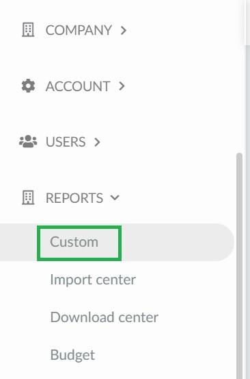 Screenshot custom reports