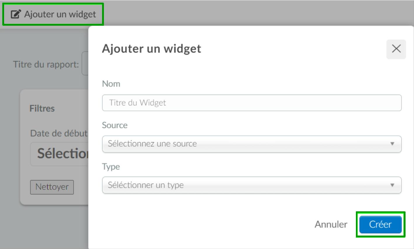 ajouter widget