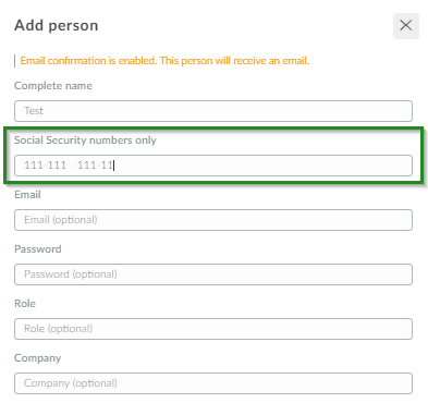 Screenshot of steps People>attendee>+ add person