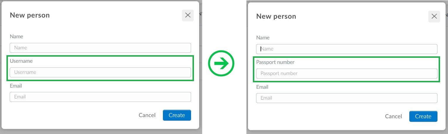 Custom lists with username masks