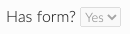 has form button