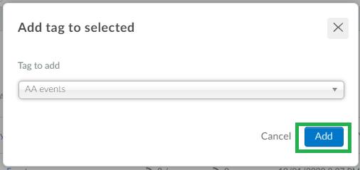 screenshor > add tag > add