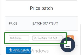 Price Batch > price bitch staring price