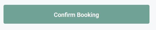 screenshot of confirming booking