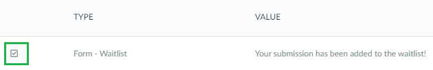 Screenshot Company Headings > edit > delete