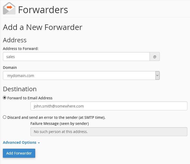 Setting Up Email Forwarding Krystal Hosting