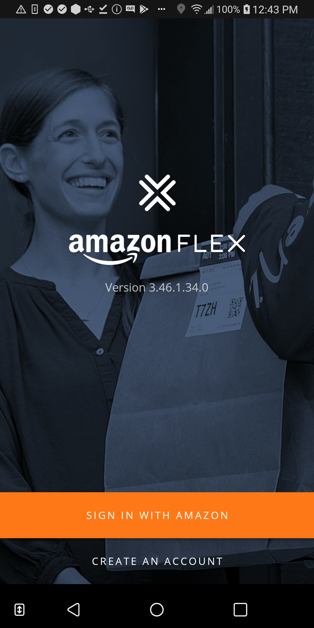 Amazon Flex Android App Update