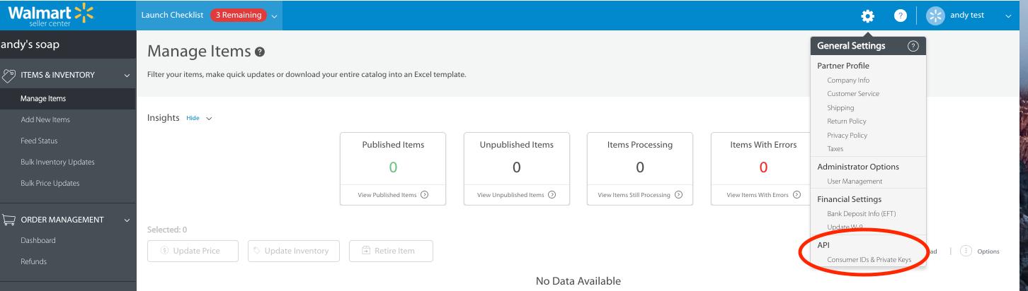 Walmart Marketplace Onboarding Quickstart Guides Item Setup