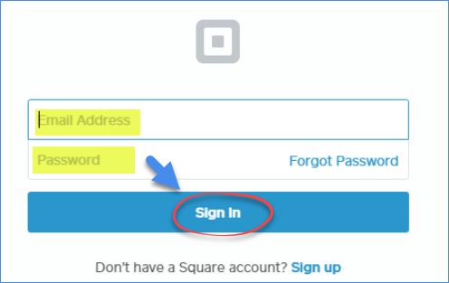 square up login