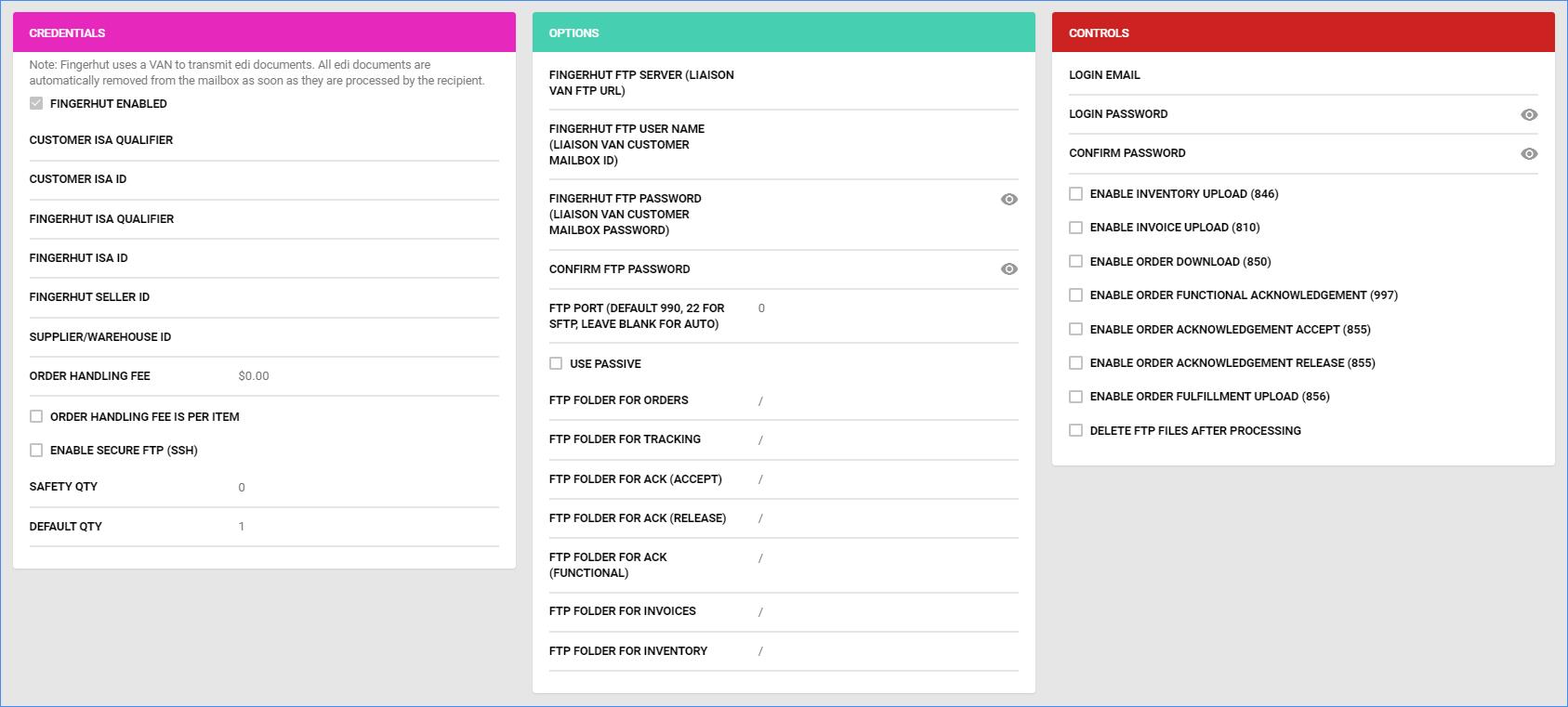 sellercloud company settings fingerhut general settings