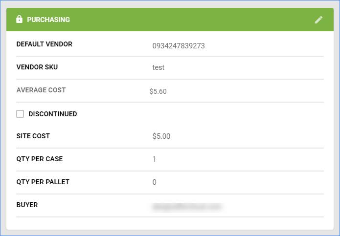 sellercloud default vendor purchasing window