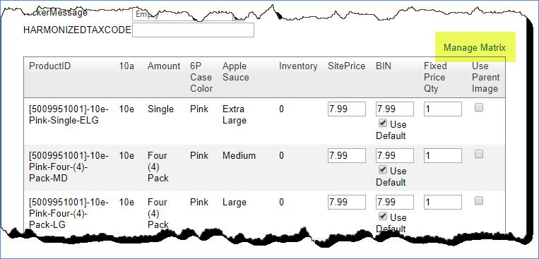 Posting N Matrix Variations To Ebay Sellercloud Help Documentation And Knowledge Base