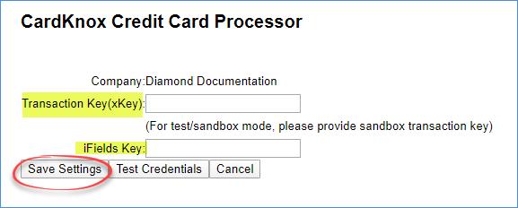 sellercloud cardknox keys original interface