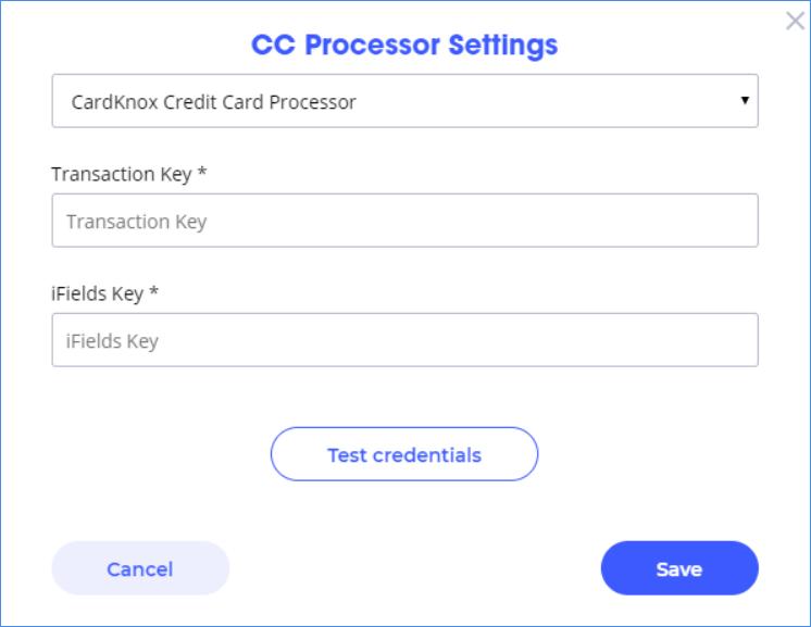 waytopay.me credit card processor settings