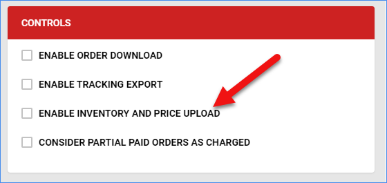 sellercloud bonanza general settings inventory and price upload