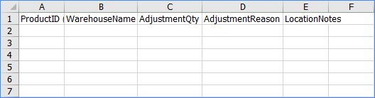 sellercloud import inventory adjustments excel template example