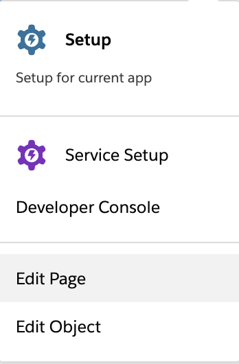 Edit Page button
