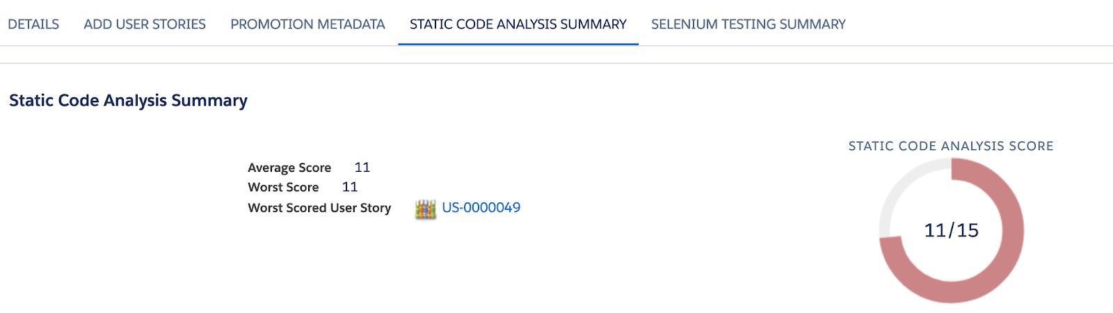 Static Code Analysis Summary