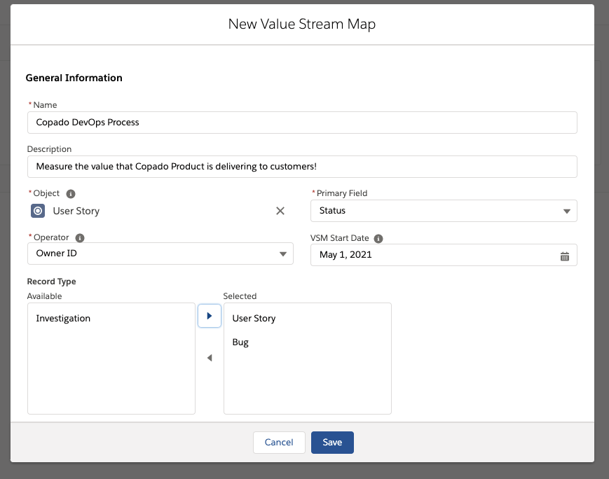 Creating a Value Stream Map