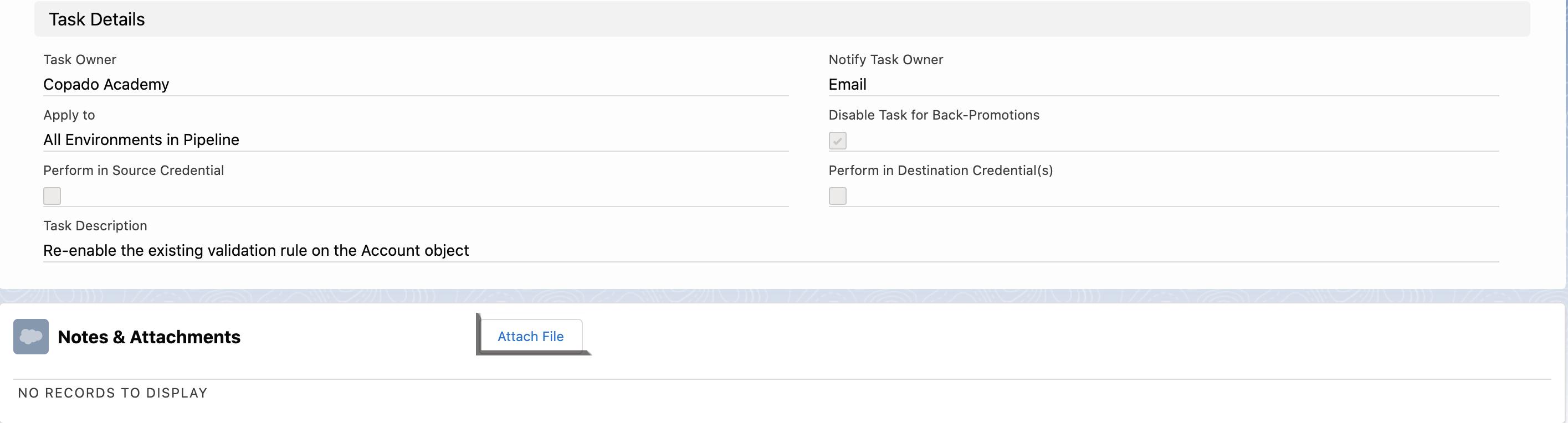 Attach File option
