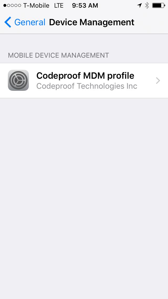 Settings-Device-management-mdm-provider