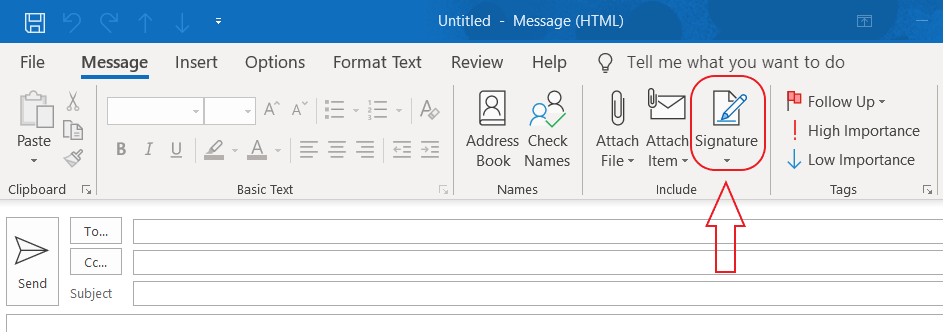 outlook signatures top ribbon.png