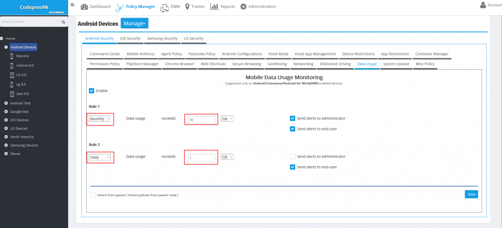 data-usage-monitoring-policy