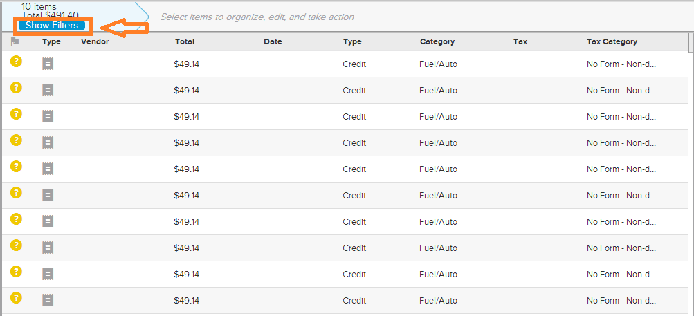 Neat Lightweight App Export selected date range - Step 2