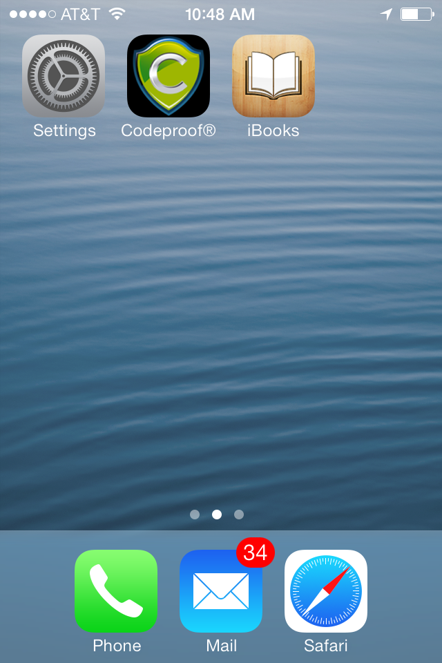 iBooks App Installed