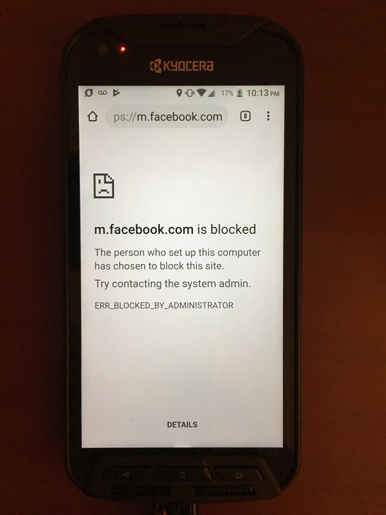 blocking-message