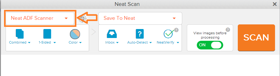 Neat Lightweight App connect multiple scanners - step 2