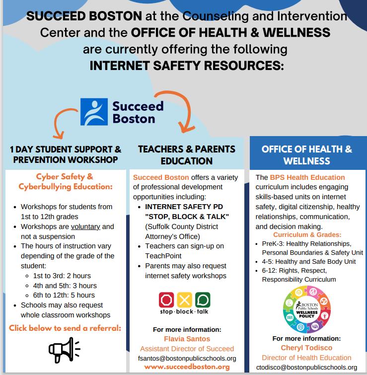 Internet Safety Resources