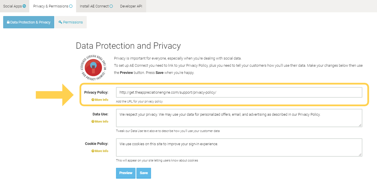 Data Privacy Policy >> Create Your Privacy Policy Ae Support Docs Help Center