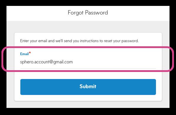 Enter Email Address