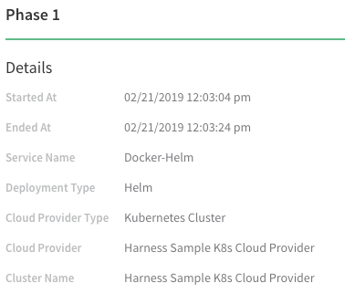 4 - Helm Workflows and Deployments - Harness io Docs