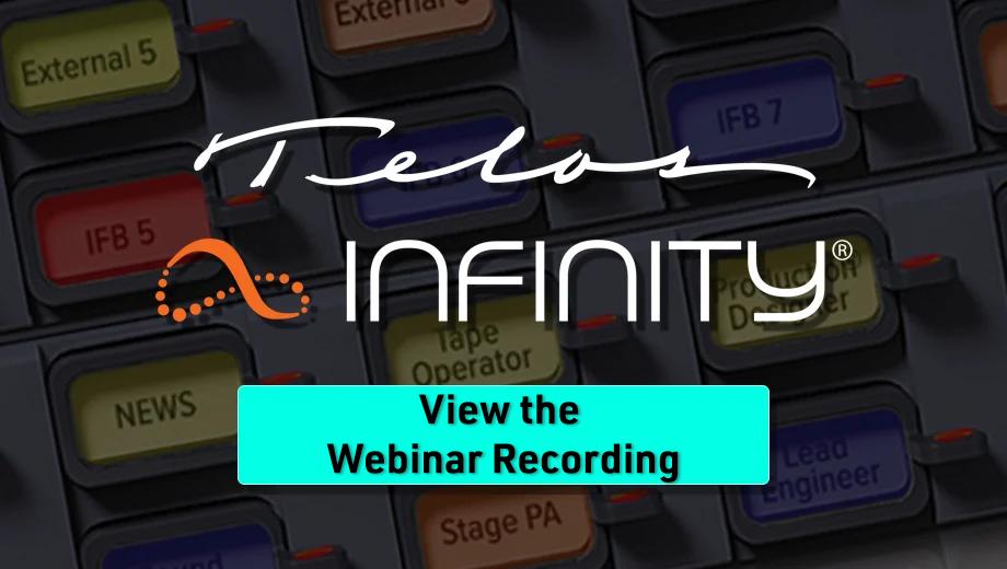 View our Infinity IP Intercom Webinar
