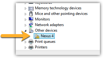 other devices in device manager with no drivers