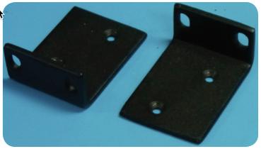 Short rack ears for MPX node