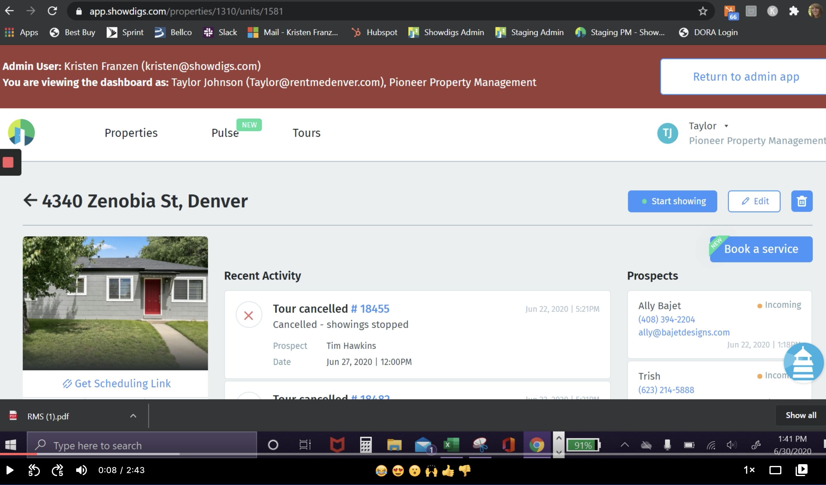 How to connect your TenantTurner listings to your Showdigs account