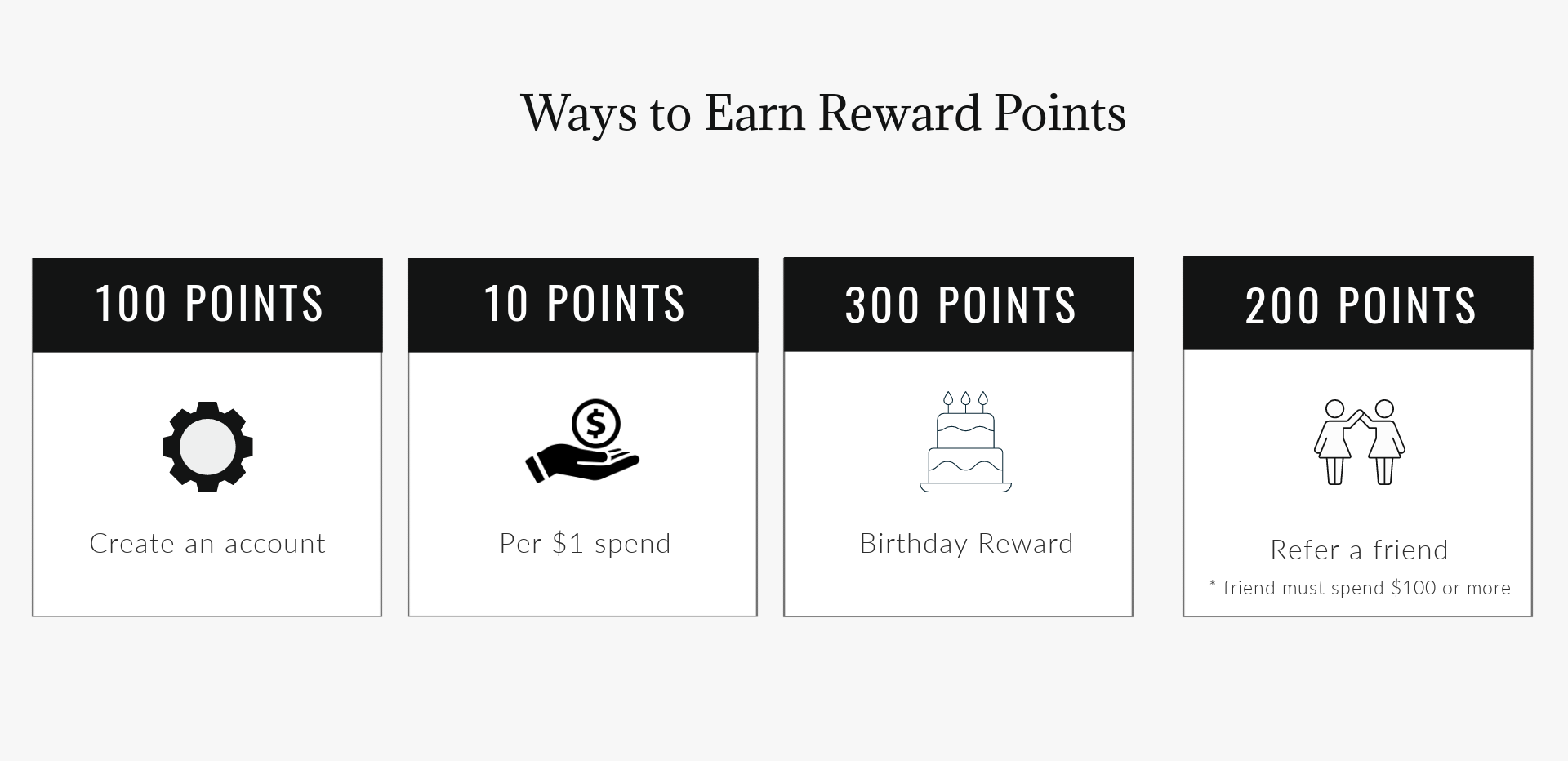 See the 4 easy ways to earn SL Raw Virgin Hair Rewards Points