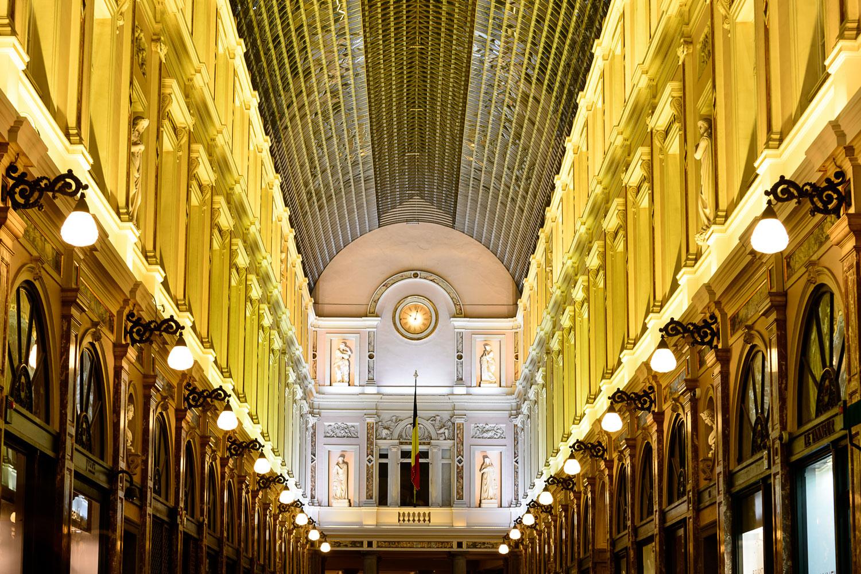 Galeries Royales Saint-Hubert - Brussels, Belgium