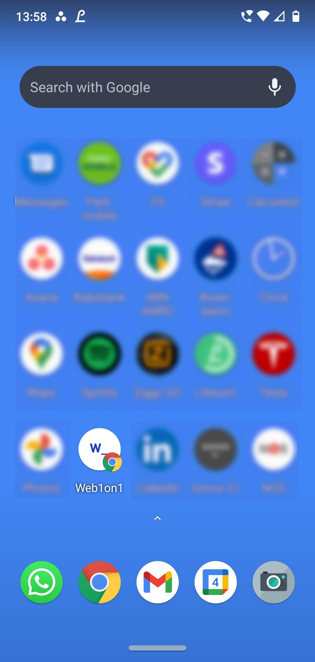 Web1on1 Mobile App